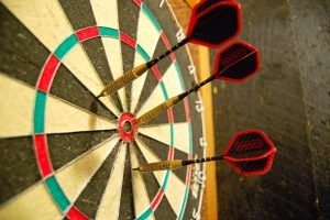 Pop in the club for a friendly game of darts or join one of our teams, league matches take place on Thursday nights